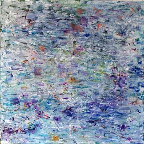 Bethlehem 21, 2012, 100 cm x 100 cm, Öl auf Leinwand