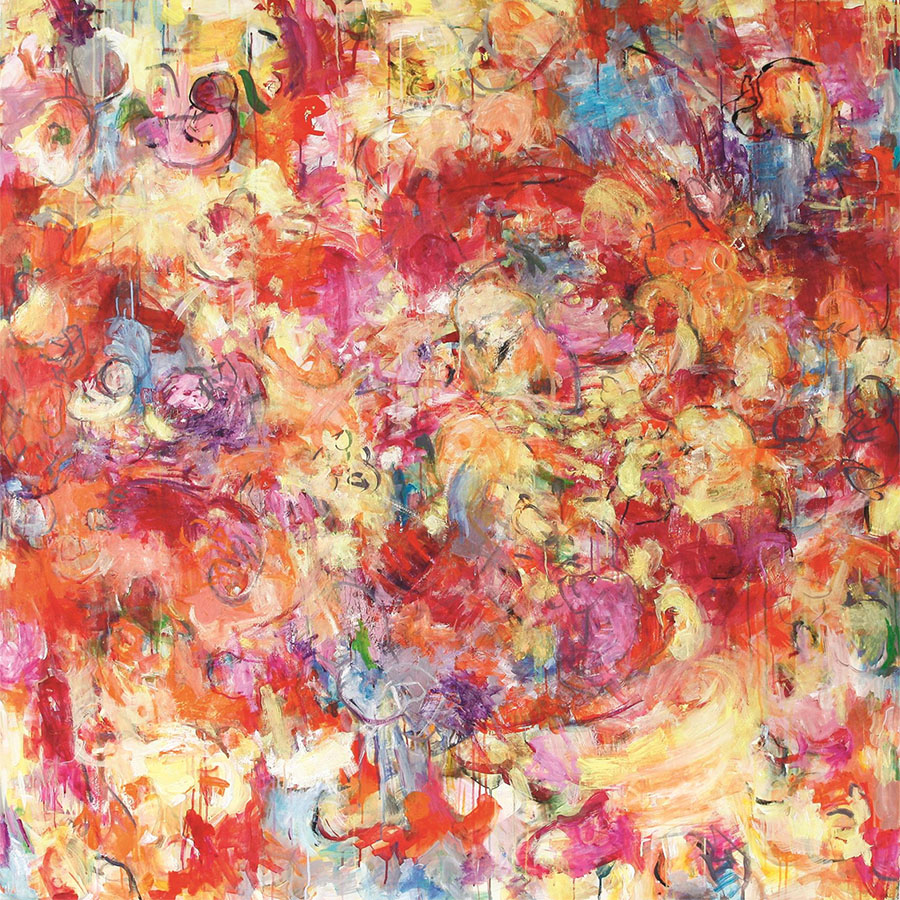 Bethlehem 26, 2013, 150 cm x 150 cm, Öl auf Leinwand