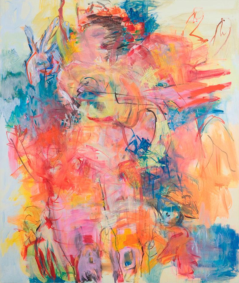Energie 1, 2008, 200 cm x 170 cm, Acryl auf Leinwand