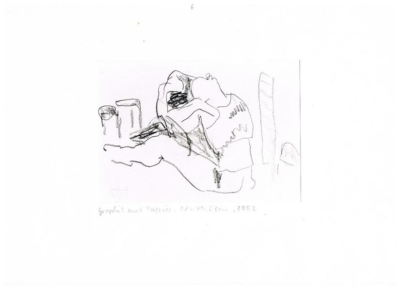 Graphit auf Papier, 2002, 21 cm x 29cm