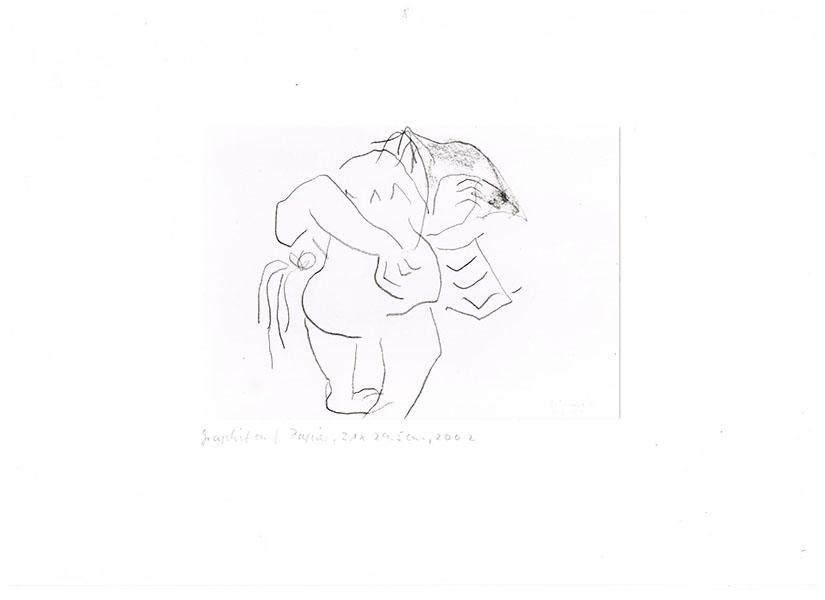 Graphit auf Papier, 2002, 21,5 cm x 29 cm