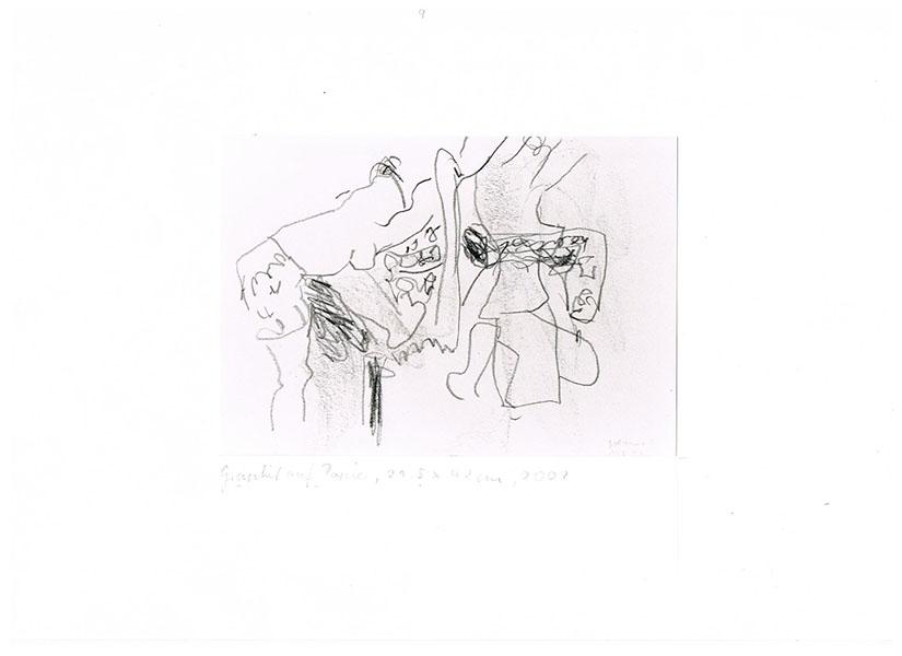 Graphit auf Papier, 2002, 29,5 cm x 42 cm