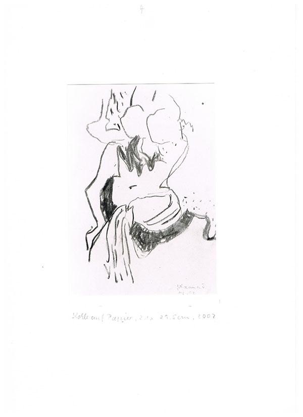 Graphit auf Papier, 2002, 29,5 cm x 21 cm