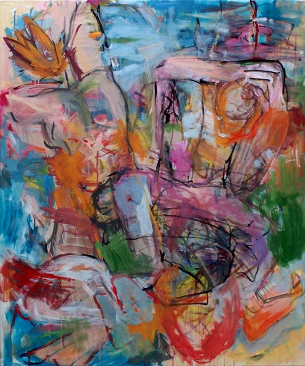 Luftikus, 2006, 120 x 90 cm, Acryl auf Leinwand