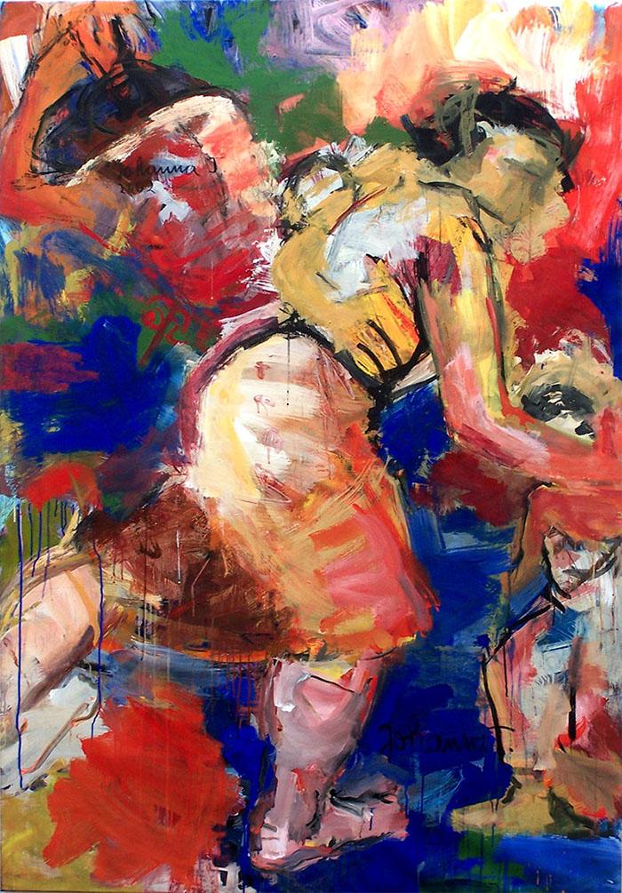 Medea, 2002, 200 cm x 140 cm, Acryl auf Leinwand