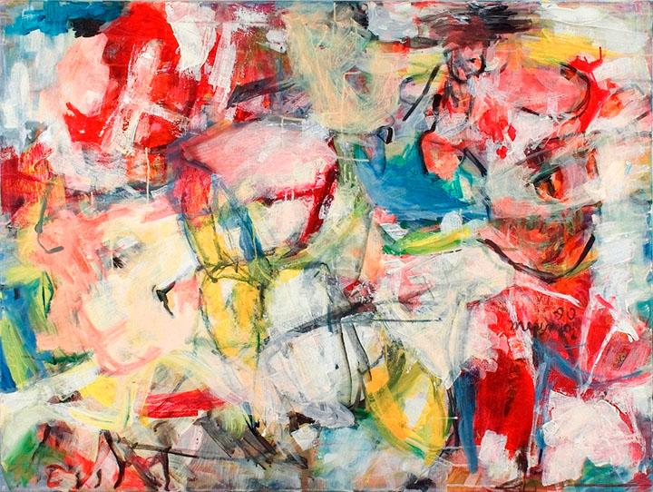 O.T., 2006, 90 x 120 cm, Acryl auf Leinwand