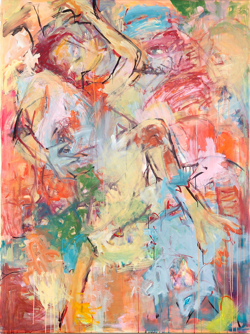O.T., 2007, 200 cm x 150 cm, Acryl auf Leinwand