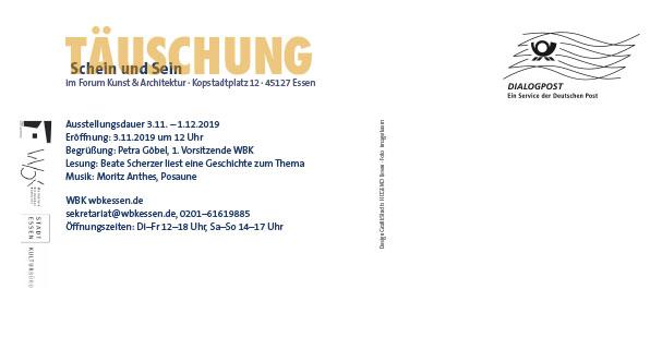 Täuschung - Schein und Sein, Forum für Kunst und Architektur
